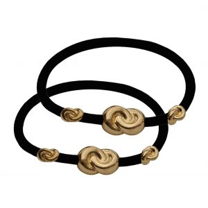 Corinne Hair Tie 3 knots (2-pack)