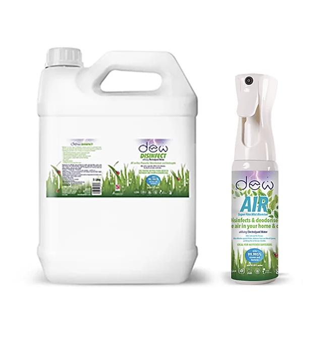 Dew Air Super Fine Mist Atomiser - 185ml and 5L Refill